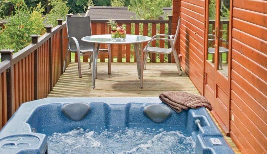 Landal Darwin Forest Hot Tub