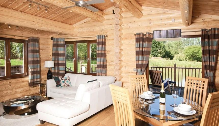Weybread Lakes Lodges Interior