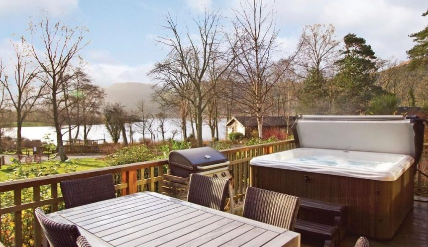 Bassenthwaite Lakeside Lodges Deck