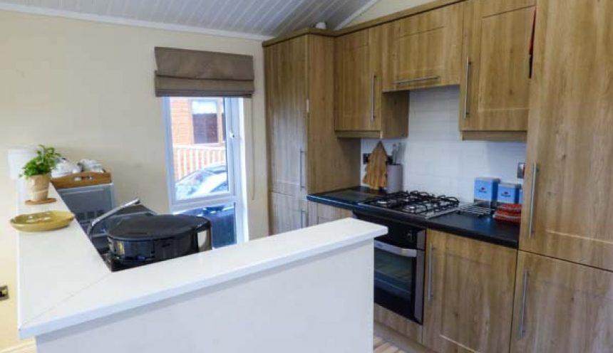 Claife View Lodge Kitchen