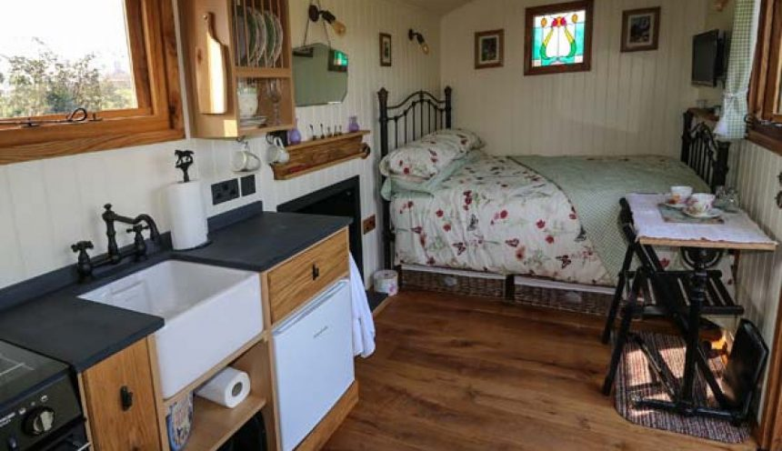 The Shire Hut Interior