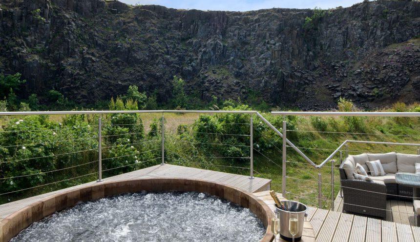 Restharrow Lodge Hot Tub